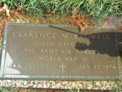Clarence M Bagwell