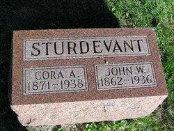 "Cora Adell ""Dell"" <I>Howard</I> Sturdevant"