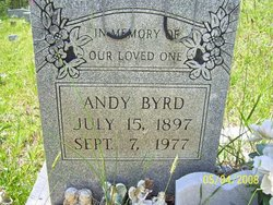 "Andrew ""Andy"" Byrd"