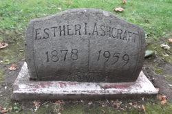 Esther Isabelle Ashcraft