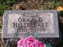 Orma D Heltebrake