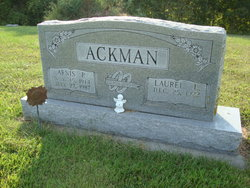 """Arnis Pearl """"A.P."""" Ackman"""