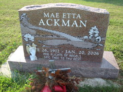 Mae Etta Ackman