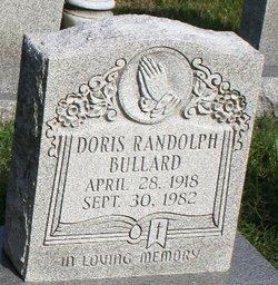 Doris <I>Randolph</I> Bullard