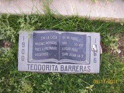 "Teodora ""Teodorita"" <I>Tachias</I> Barreras"