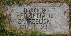 Henrietta W Zakrzewski