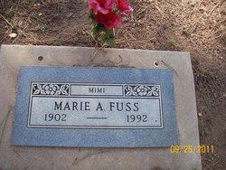 """Marie A. """"Mimi"""" Fuss"""