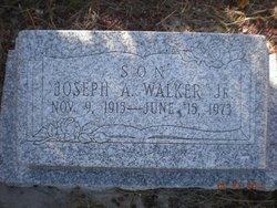Joseph A Walker, Jr