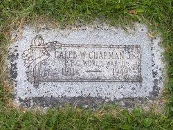 Caleb William Chapman, Jr