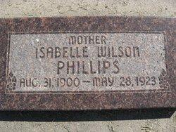 Isabelle <I>Wilson</I> Phillips