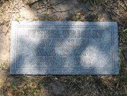 Jennie <I>Wrigley</I> Stancliff
