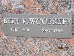 """Elizabeth Ruth """"Beth"""" <I>Goin</I> Woodruff"""