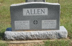 Jessie Irene <I>Cagle</I> Allen