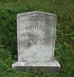 Martha J. <I>Anderson</I> Davis
