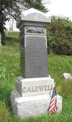 """Abigail """"Abbie"""" <I>Lord</I> Caldwell"""