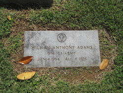 William Anthony Adams