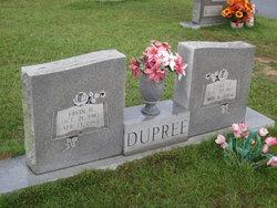Ethel Elizabeth <I>Jones</I> Dupree