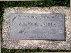 Grace Elizabeth <I>Pryor</I> Adskim