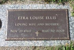 Ezra Louise <I>Sloas</I> Ellis