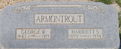 Harriett Susan <I>Bishop</I> Armontrout
