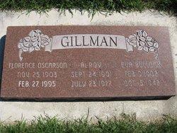 Florence <I>Oscarson</I> Gillman