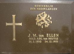 Sold Johannes Marinus Ter Ellen