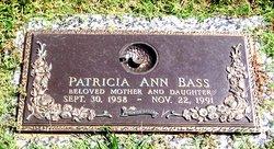 Patricia Ann <I>Byrum</I> Bass