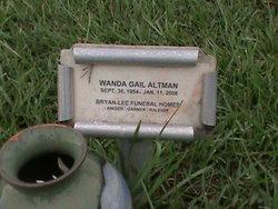 Wanda Gail Altman