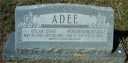Winifred Pearl <I>Montague</I> Adee