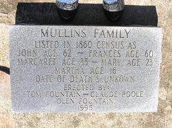 "Frances Ann ""Fanny"" <I>Mullinax</I> Mullins"