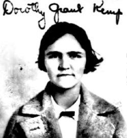 Dorothy Grant <I>Kemp</I> Roosevelt