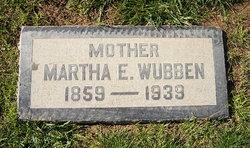 Martha Evelyn <I>Keeler</I> Wubben