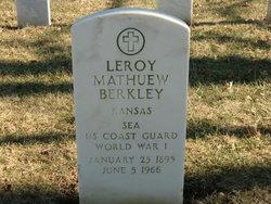 Leroy Mathuew Berkley