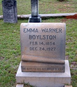 Emma <I>Warner</I> Boylston