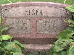 Mary E <I>Edler</I> Elser