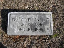 Effey P Ellenburg