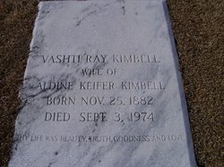 Mrs Vashti <I>Ray</I> Kimbell