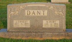 Joseph Ernest Dant