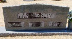 """Louella Josephine """"Ella"""" <I>Chastain</I> Anderson"""