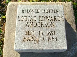 Louise <I>Edwards</I> Anderson