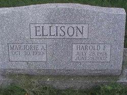 Marjorie A. <I>Oesch</I> Ellison
