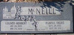 Golden Herbert Mcneill