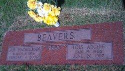 Joy H <I>Hackleman</I> Beavers