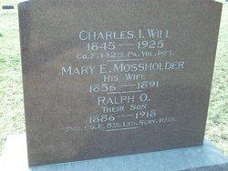 Mary Etta <I>Mossholder</I> Will