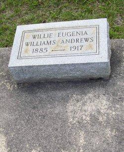 Willie Eugenia Williams Andrews