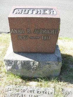 Anna R <I>Reed</I> Albright