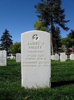 MSGT James S Miller