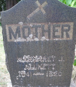 Margaret Josephine <I>Early</I> Allnett