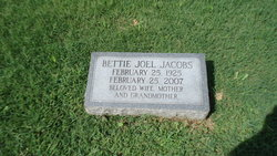 Bettie <I>Joel</I> Jacobs