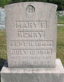 Mary Francis <I>Kessinger</I> Henry